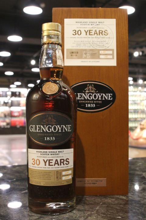 Glengoyne 30yr Sherry Casks Limited Release 2017 格蘭哥尼 30年 雪莉桶 限量版 (46.8% 30ml)