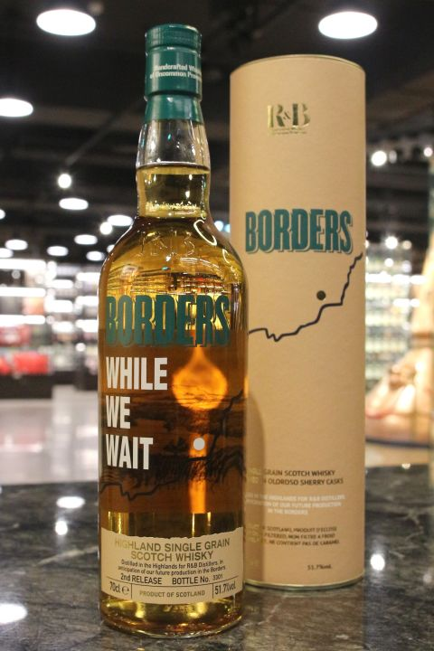 R&B Borders Single Grain 2nd Release 邊境地區 單一穀物 第 2版 (51.7% 30ml)