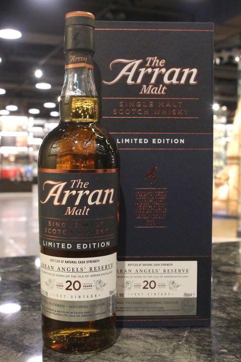 Arran 1997 Vintage Angels' Reserve 20yr 愛倫 20年 22週年紀念 限量版原酒 (52.2% 30ml)