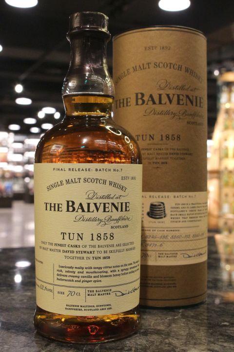 Balvenie Tun 1858 Batch No.7 百富1858號桶 第七批次 (52.1% 30ml)
