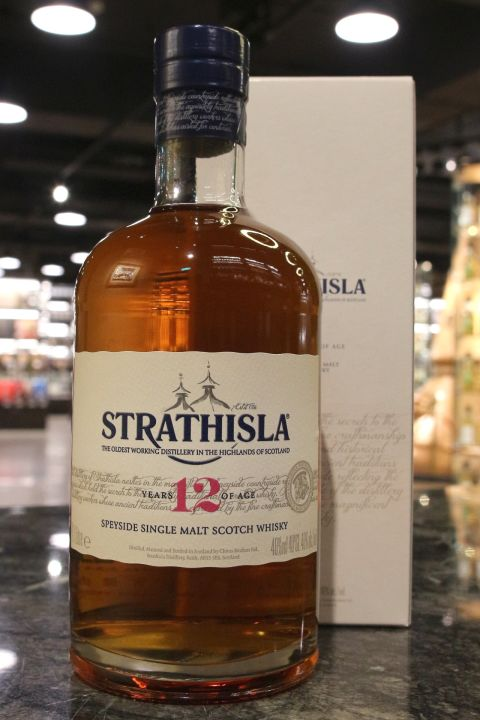 Strathisla 12yr Single Whisky 史翠艾拉 12年 單一純麥威士忌 (40% 30ml)