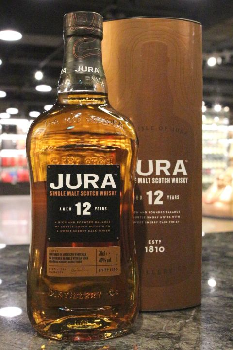 Jura 12yr EX-Bourbon Barrels & Oloroso Sherry Cask Finish 吉拉 12年 波本雪莉雙桶 (40% 30ml)