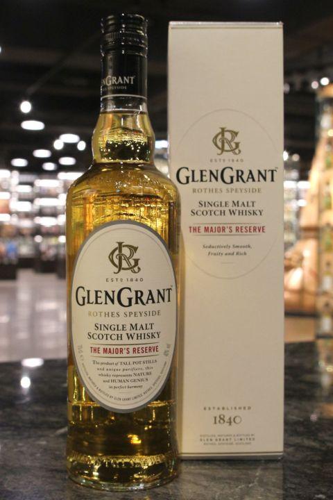 Glen Grant The Major's Reserve 格蘭冠 少校典藏 單一麥芽威士忌 (40% 30ml)