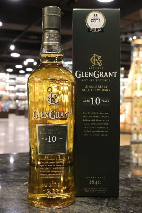 Glen Grant 10yr Single Malt Whisky 格蘭冠 10年 單一麥芽威士忌 (40% 30ml)