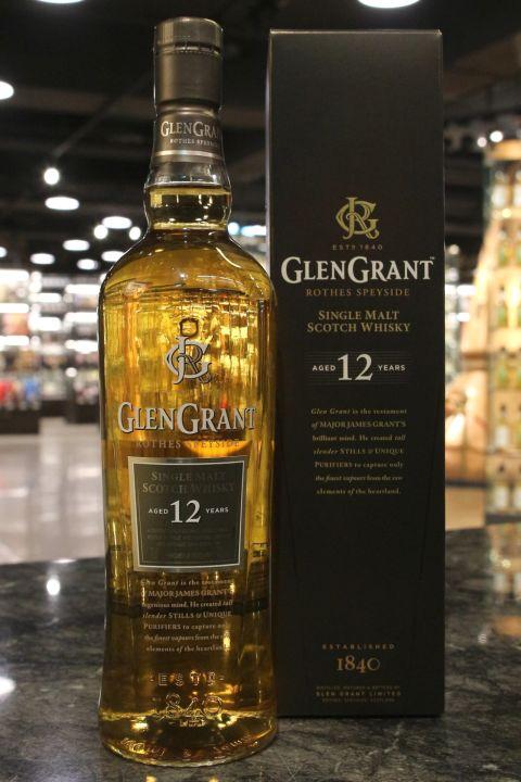 Glen Grant 12yr Single Malt Whisky 格蘭冠 12年 單一麥芽威士忌 (43% 30ml)