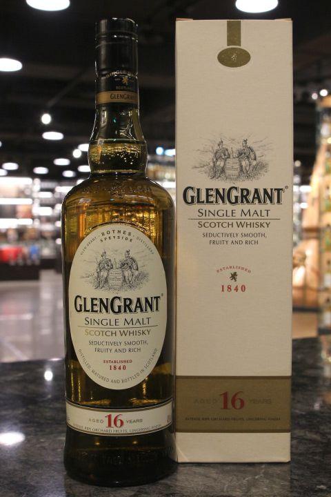 Glen Grant 16yr Single Malt Whisky 格蘭冠 16年 單一麥芽威士忌 (43% 30ml)