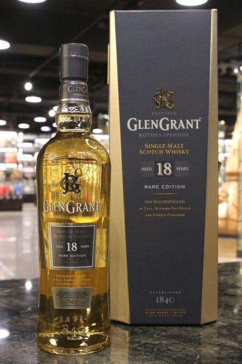 Glen Grant 18yr Rare Edition 格蘭冠 18年 雙桶 單一麥芽威士忌 (43% 30ml)