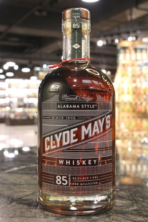 Clyde May's Alabama Style Whiskey 85 Proof 格萊美 阿拉巴馬蘋果威士忌 (42.5% 30ml)