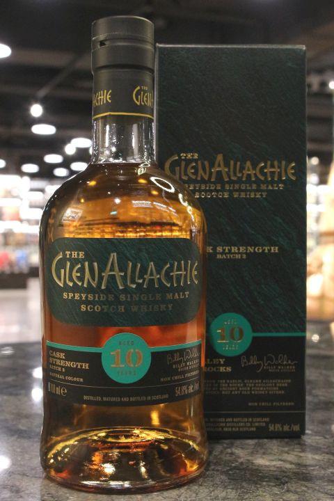 Glen Allachie 10yr Cask Strength Batch:2 艾樂奇 10年 第2版原酒 (54.8% 30ml)