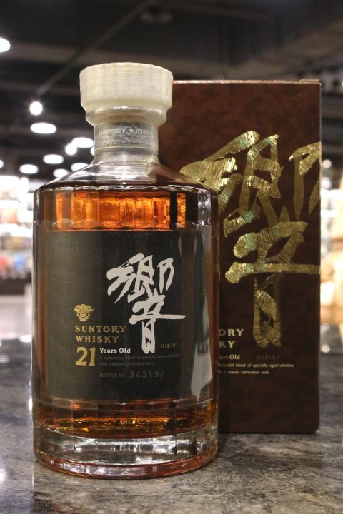 Hibiki 21yr Blended Golden Flower Version 響 21年 金花版 調和威士忌 (43% 30ml)