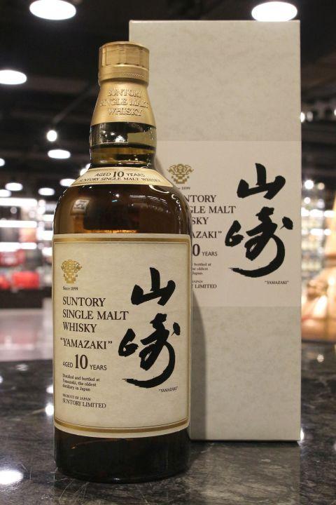 Yamazaki 10yr Single Malt Limited 山崎 10年 金花白標 (40% 30ml)