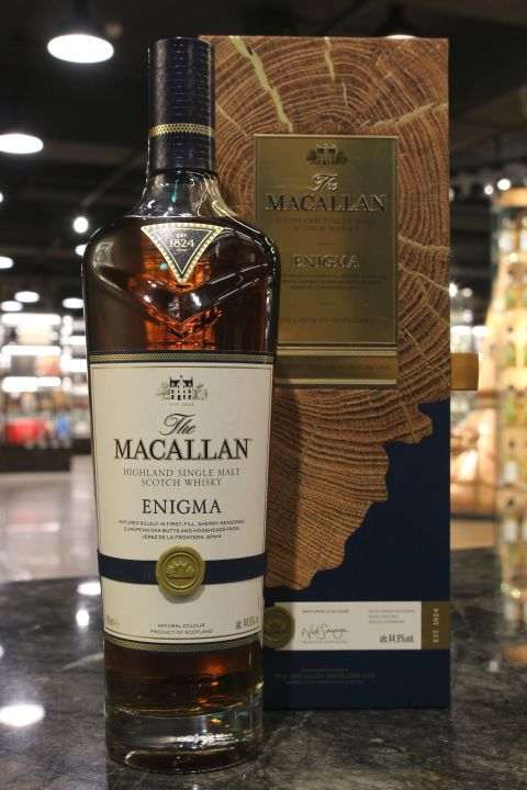 Macallan The Quest Collection - Enigma 麥卡倫 探索系列 - 湛藍 (44.9% 30ml)