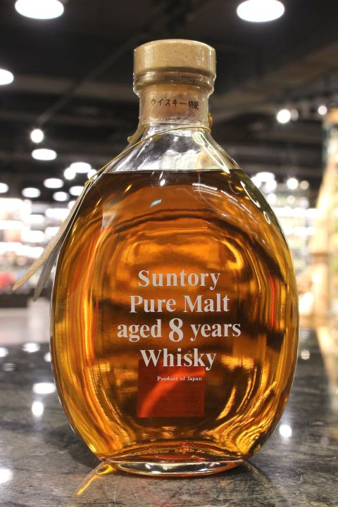 Suntory 8yr Pure Malt  三得利 8年 特級 純麥水滴瓶 (43% 30ml)