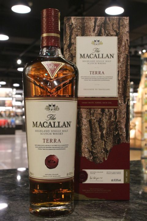 Macallan The Quest Collection -  Terra 麥卡倫 探索系列 - 赤木 (43.8% 30ml)