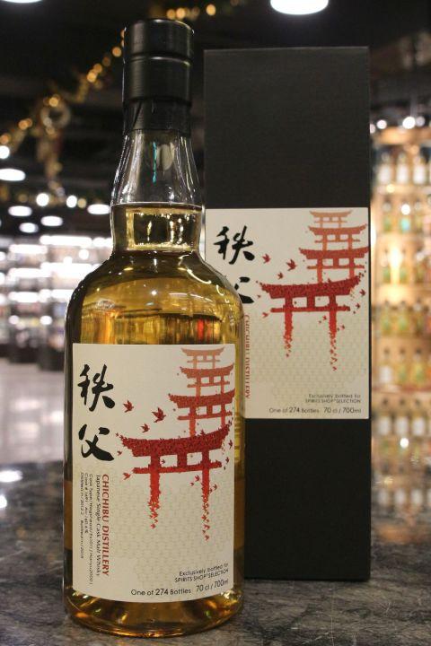 CHICHIBU 2012-2018 Hogshead #169 (Hanyu 2000) 秩父 千羽鶴鳥居 豬頭單桶 (60.6% 30ml)