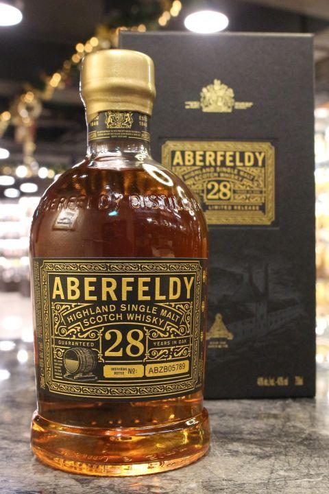Aberfeldy 28yr Limited Release 艾柏迪 28年 手工小批次 限定版 (40% 30ml)