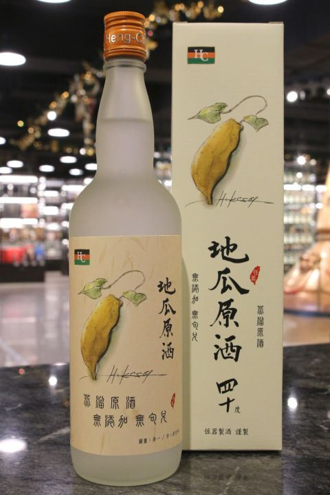 Heng Chi Sweet Potato Liquor 恆器製酒 地瓜原酒 四十度 (40% 30ml)