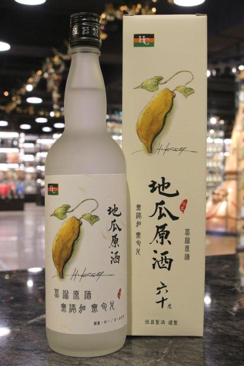 Heng Chi Sweet Potato Liquor 恆器製酒 地瓜原酒 六十度 (60% 30ml)