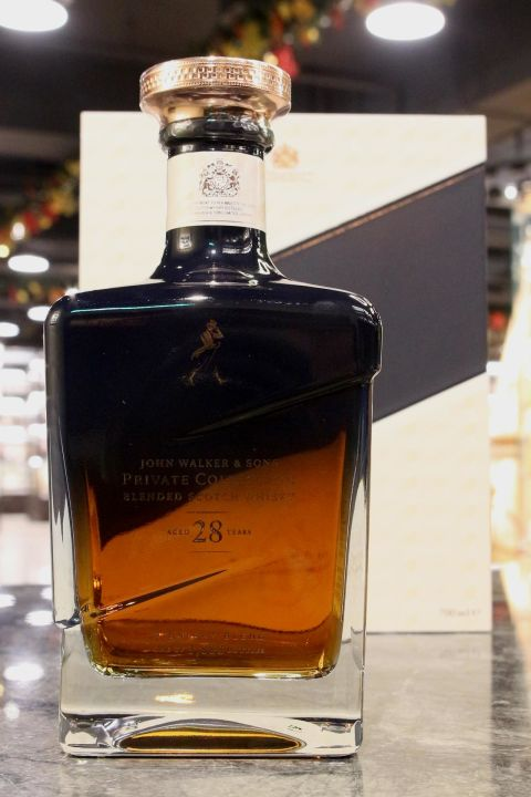 Johnnie Walker & Sons 28yr Midnight Blend 2018 約翰走路 28年 私人珍藏系列 (42.8% 30ml)
