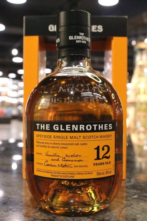 Glenrothes 12yr 格蘭路思 12年 (40% 30ml)