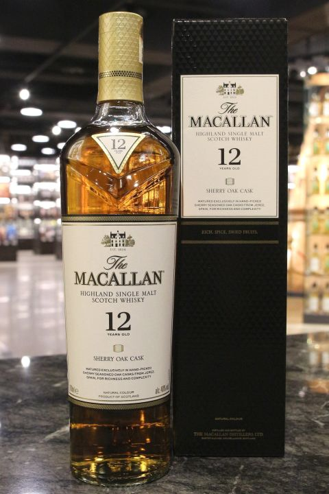 Macallan 12yr Sherry Oak Cask 2018 麥卡倫 12年 雪莉桶 (40% 30ml)