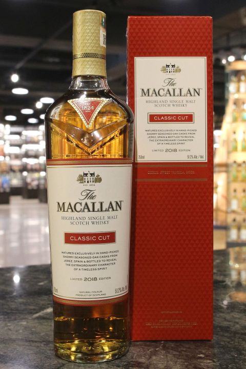 Macallan 2018 Classic Cut 麥卡倫 2018 經典調味桶限量版 (51.2% 30ml)
