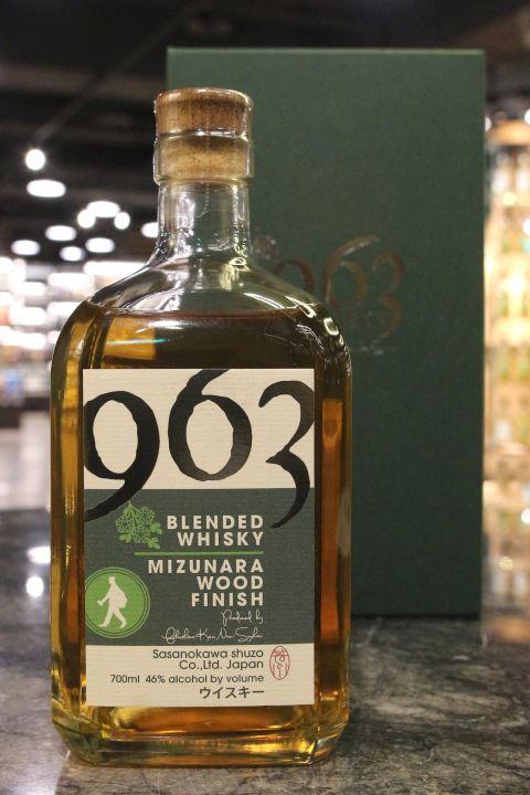 Yamazakura 963 Mizunara Wood Finish Blended 山櫻 963  笹の川酒造 水楢桶 調和 (46% 30ml)