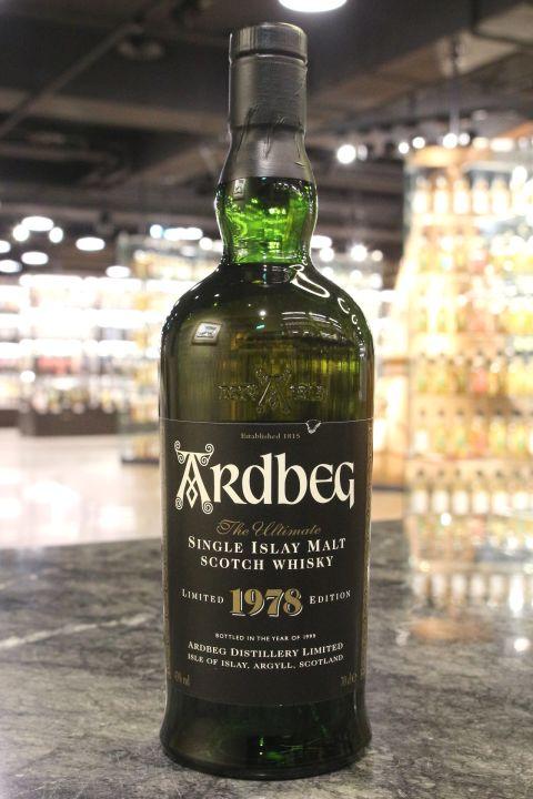 Ardbeg 1978 Bottled 1999  雅柏 1978 限定版 (43% 15ml)