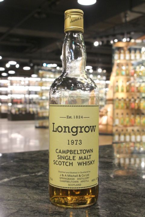 Longrow 1973 Single Malt Whisky 朗格羅 1973 單一純麥 80年代中期 (46% 15ml)