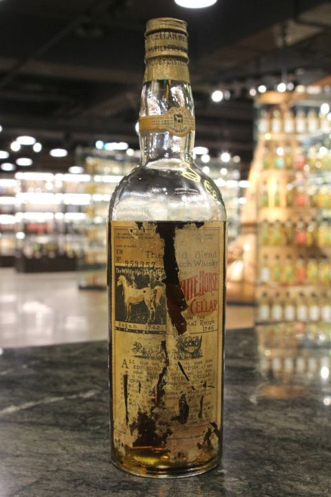 White Horse Cellar (The King) The Old Blend 白馬 純麥調和 60年代 (43% 15ml)