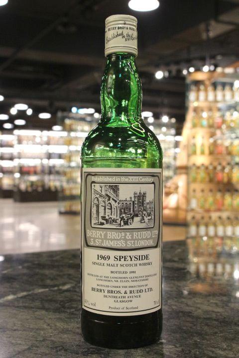 Longmorn-Glenlivet 1969 Botlled 1991 - BBR 朗摩 1969 單一純麥威士忌 (43% 15ml)
