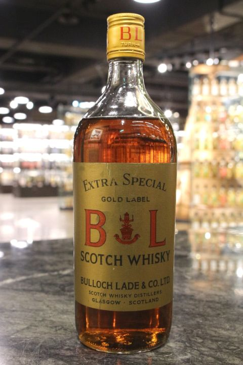 Bulloch Lade Gold label Extra Special Scotch Whisky 布洛克拉德 70年代 (-- 15ml)