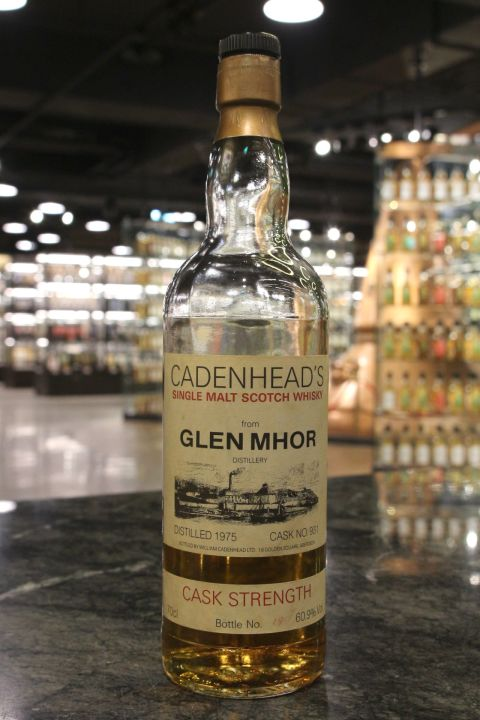 Glen Mhor 1975 Cask Strength - Cadenhead's 格蘭姆霍 1975原酒 凱德漢 90年代後期 (60.9% 15ml)