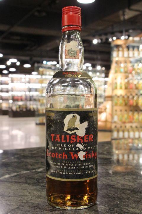Talisker 1947 Pure Highland Malt - Gordon & MacPhail 大力斯可 1947 (40% 15ml)