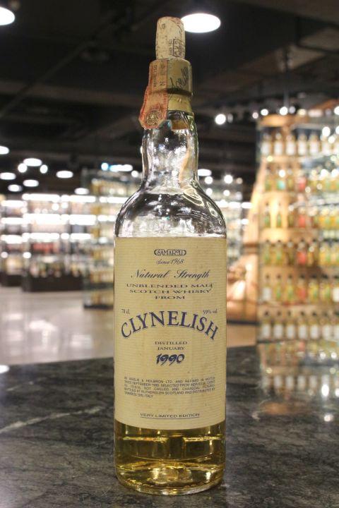 Samaroli - Clynelish 1990 Natural Strength 克萊力士 1990 原酒 (59% 15ml)