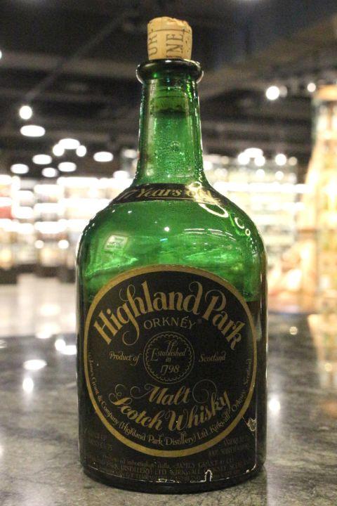 Highland Park 17yr Orkney Malt Whisky 高原騎士 17年 70年代晚期 (43% 15ml)