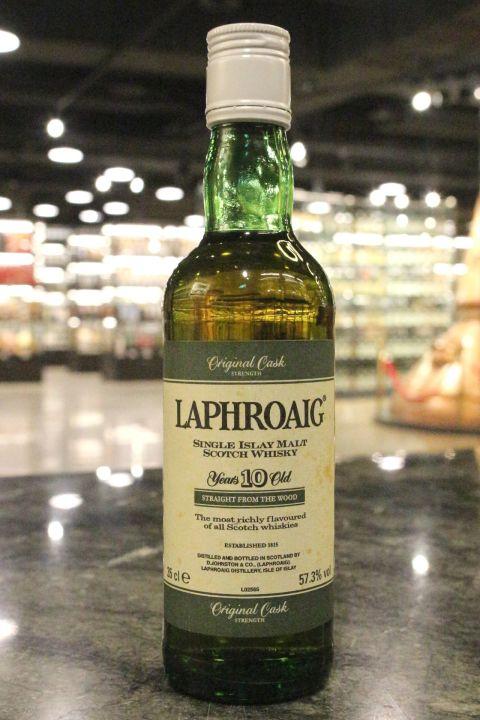 Laphroaig 10yr Original Cask Strength 拉佛格 10年原酒 90年代裝瓶 (43% 15ml)