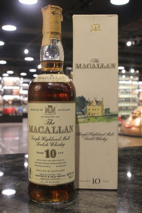 Macallan 10yr Sherry Cask 麥卡倫 10年 雪莉桶 絕版圓瓶 (40% 15ml)