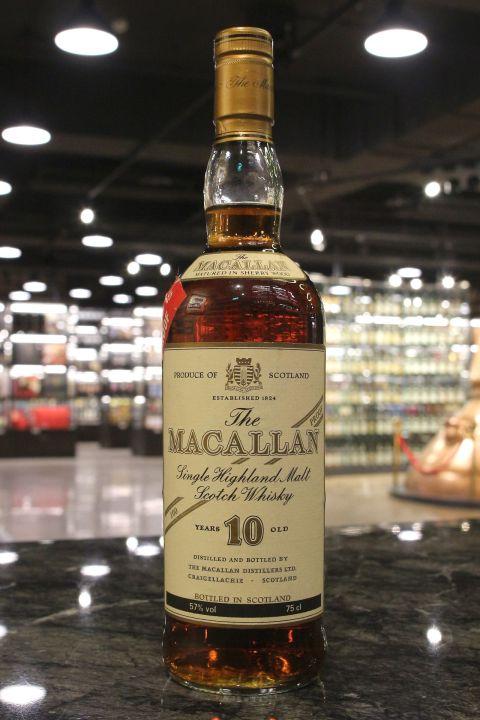 Macallan 10yr Single Highland Malt 100 Proof 麥卡倫 10年原酒 (57% 15ml)