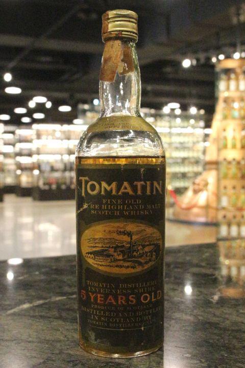 Tomatin 5yr Pure Highland Malt Whisky 湯馬丁 5年 純麥威士忌  (43% 15ml)