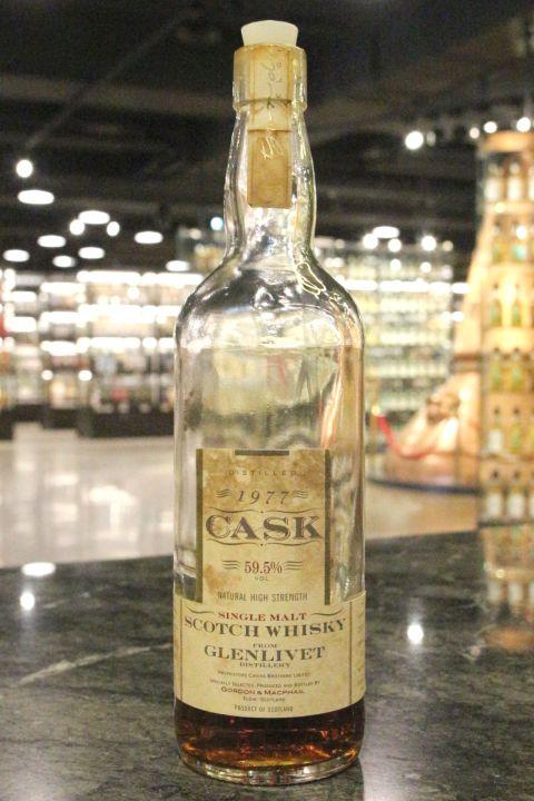 Glenlivet 1977 Cask Strength - Gordon & MacPhail 格蘭利威 1977 原酒 (59.5% 15ml)