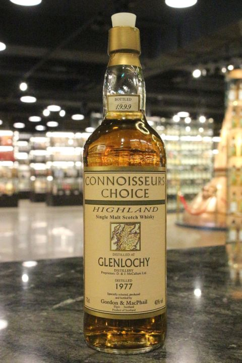 Glenlochy 1977 - Gordon & MacPhail Connoisseurs Choice 格蘭洛奇 1977 (40% 15ml)