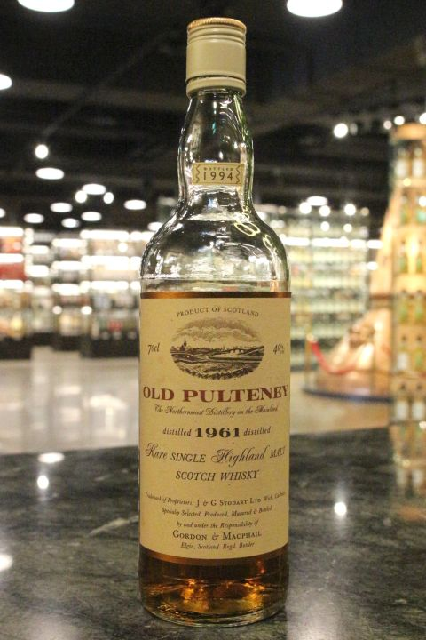 Old Pulteney 1961 Rare Single Malt  - Gordon & MacPhail 富特尼 1961 (40% 15ml)