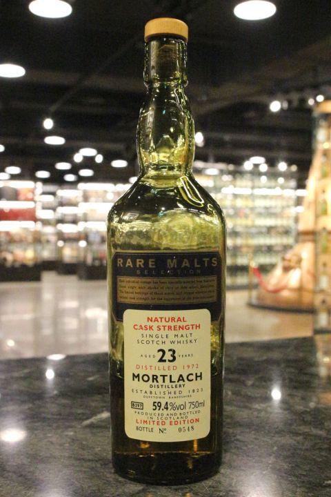 Rare Malts - Mortlach 23yr 1972 Cask Strength 慕赫 23年 原酒 (59.4% 15ml)
