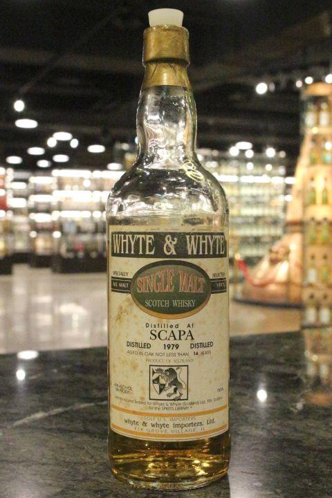 Whyte and Whyte - Scapa 1979 14yr Single Malt 斯卡帕 14年 1979 (43% 15ml)