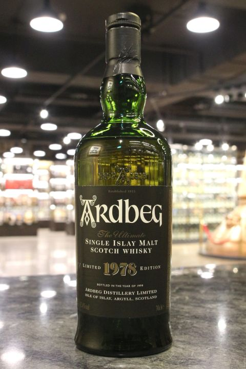 Ardbeg 1978~1999 Limited Edition 雅柏 1978 限定版 (42.4% 15ml)