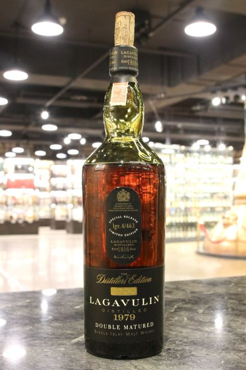 Lagavulin 1979 PX Sherry  Wood Double Matured 拉加維林 1979 PX雪莉雙桶 酒廠限定版 (43% 15ml)