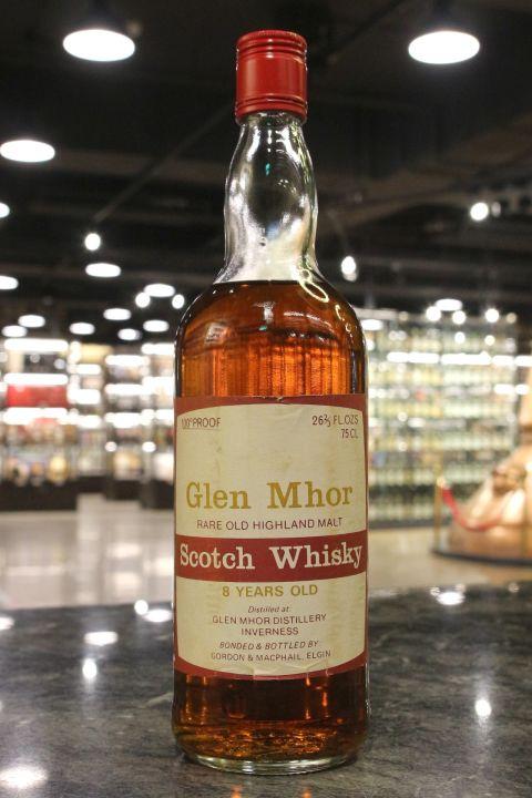 Glen Mhor 8yr Rare Old Highland Malt Whisky - Gordon & MacPhail (57.1% 15ml)
