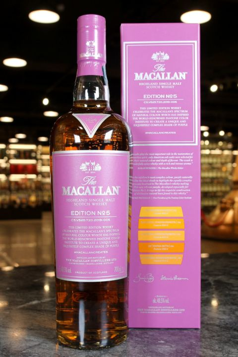 Macallan Edition No.5 麥卡倫 2019年度限量 (48.5% 30ml)