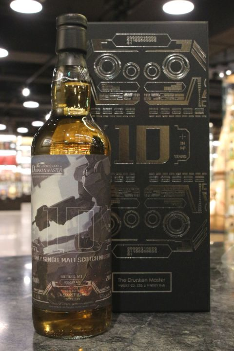 The Drunken Master - A Secret Islay 10yr 2008~2019 醉俠 機器人系列 (57.2% 30ml)